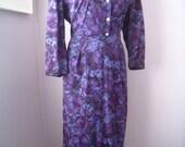 Vintage Wear to Work Secretary Dress - Handmade - Mad Men