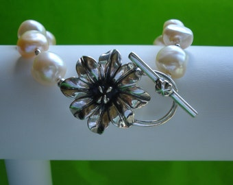 Blush Freshwater Pearl Bracelet