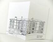 A5 Glasgow Journal, Handmade Notebook, Scottish Journal, travel journal