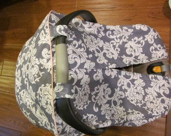 Car Seat Canopy/Cover  // Fitted Canopy //