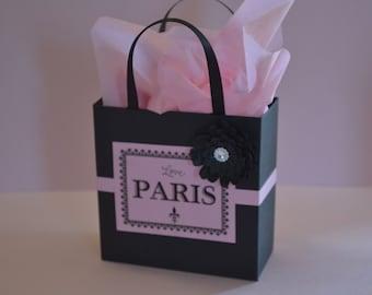 Paris party favor bags for candy buffets