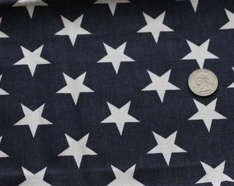 Navy Stars Fabric Cuff - POSH PALMS - Fancy Ruffled Rubber Gloves - Cleaning Gloves - Dishwashing Gloves