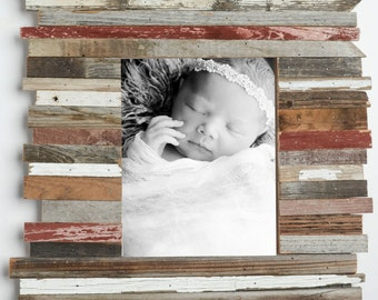 11x14 Reclaimed Rustic Picture Frame-Home Decor Frames-Cottage Chic- Frame-Shanty-Natural Frames-Picture Frames