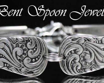 how to make bent spoon jewelry