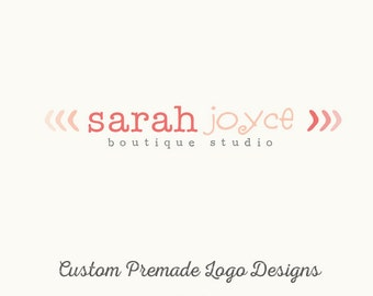 Custom Logo Design - Premade OOAK - Sarah Joyce