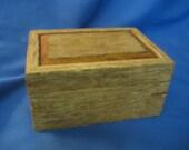 rustic jewelry treasure keepsake barn siding box