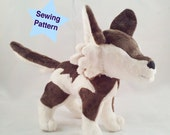 Instant Download Wolf Plushie Pattern