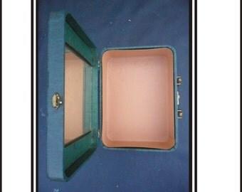 Blue Overnight Case