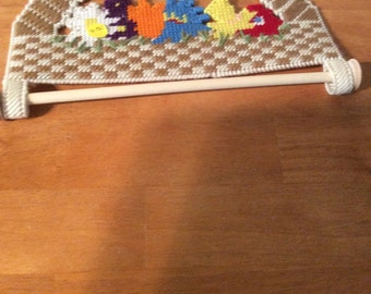 Floral Kitchen Towel Holder
