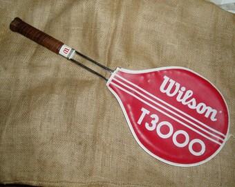 Vintage Wilson T3000 Tennis Racket