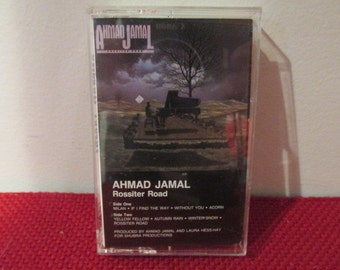 Tested and Working Vintage Audio Cassette Tape Jazz Great Ahmad Jamal Rossiter Road VG Condition