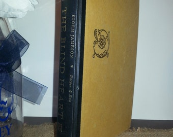 Vintage Books, First Edition Book, Collectors Book, Rare Book, The Blind Heart by Storm Jameson
