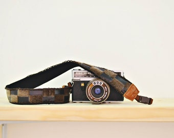 iMo Brownie Camera Strap with quick release buckles for DSLR / SLR