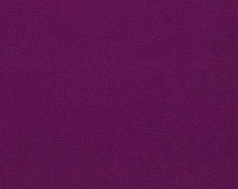 Berry, Kona Cotton, Robert Kaufman Fabrics, 1/2 Yard