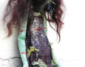 RESERVED - Please do not buy! Garden/Oz OOAK cloth Art Doll No.D6  RESERVED