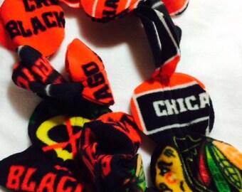 Handmade Chicago Black Hawks Scarf