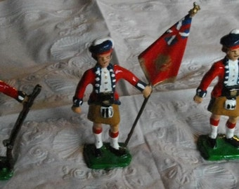 Three Highland Troopers War of 1812
