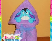 Eeyore hooded towel - can be personalized
