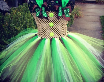 Green Gingerbread Costume Great for Christmas Photos, Halloween Costume and much more