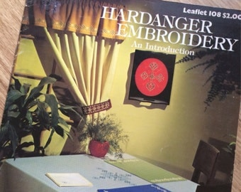 Leisure Arts Hardanger Embroidery -An Introduction