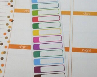 Blank Tabs Set of 40