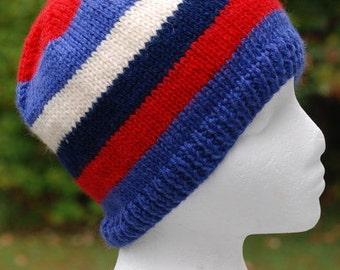 striped watch cap