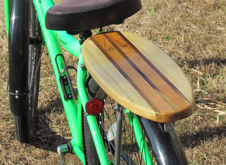 Surfboard Rear Bike Rack Solid Cherry And Poplar