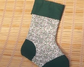 Christmas Stocking, Decoration, Gift Bag, Holly.