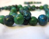 Bluegreen Mixed Stone Bracelets