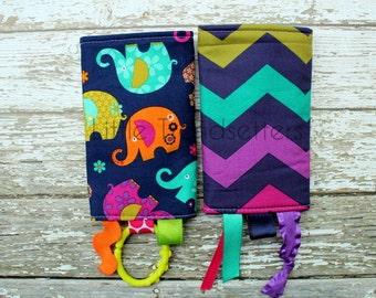 Elephant Romp Drool Pads
