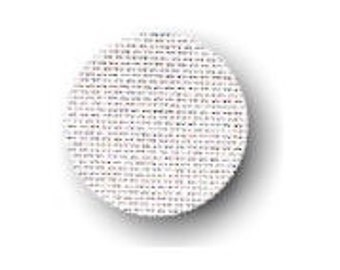 Cross Stitch Linen White 32 Count 18 x 27 inches, Aida Evenweave Fabric, Needlecraft Fabric