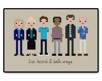 Psych - Cross Stitch PDF Pattern