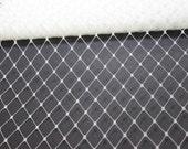 "12"" Ivory Russian Veiling Netting  - One Yard - Bridal Fasinators, Hats"