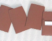 48 teeny tiny envelope note sets miniature mini square assorted brown stationery party favors weddings guest book table number love note