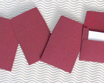 30 teeny tiny envelope note sets miniature mini square brandywine pink stationery party favors weddings guest book table number love note