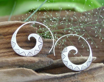 Silver earrings-The Silver One (7)