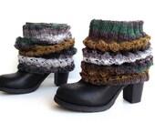 Knit Boot Socks Leg Warmers Boot Cuffs Women Socks Winter Women Leggings Winter Accessories Christmas Gifts For Her senoaccessory