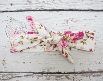 top knot headband,baby headband, knot baby head wrap,floral top knot headband, tie knot turban headband, headband, baby tie knot headwrap