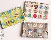 Fat Quarter Bundle Suzuko Koseki Small Patchwork Circles, 3 Pieces, Yuwa Fabric, SZ816975, 100% Cotton Japanese Fabric
