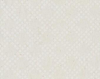 Mochi Dottie's Cousin in Natural, Rashida Coleman Hale, Cotton+Steel, RJR Fabrics, 100% Unbleached Cotton Fabric, 1915-1