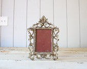 Vintage Gold Picture Frame // Photo Display
