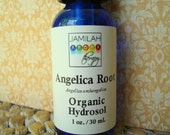 Hydrosol - Angelica Root Hydrosol - Organic Mist Brings Calm, Reducing Anxiety, High Vibration, Crown Chakra, 100% Organic, Distinctive 1oz.