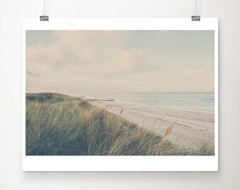beach photograph beach grass photograph ocean photograph beach grass print norfolk photograph coastal print seaside photograph