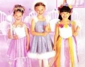Little Girls Fairy Tale Costume Pattern McCalls P256/2976 (Girls sizes 3-4-5)