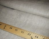 "1/2 Price - 28"" x 55"" -One Piece - Soft and Supple Oatmeal Linen -Perfect linen for hand towels -Kitchen Linen - 9 ounce weight - Washable"
