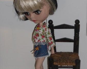 Blythe Mini skirt, Blouse & Socks  (BD86315)