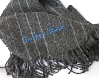 Birthday Gift, Personalized Scarf, Wool Gift For Boss, Business Logo Gift, Gift Wrapping & Tags