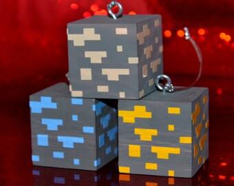 Personalized Block Ornaments - Set 3 (Ores)