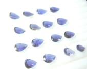 10 Pc Gorgeous Blue Iolite Pear Cut Stone 6x9mm Wholesale Price