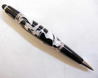 Acrylic Writing Pen_Wall Street ll Style_Chrome Twist Pen_Touch Screen Stylus